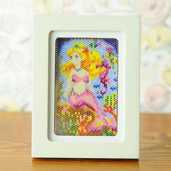 ビーズキット ステッチ ステッチ絵画〜人魚姫〜  ビーズマニア beadsmania-shop 02