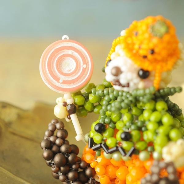 テディベアシリーズ〜ハロウィン・かぼちゃくん〜  ビーズマニア beadsmania-shop 08