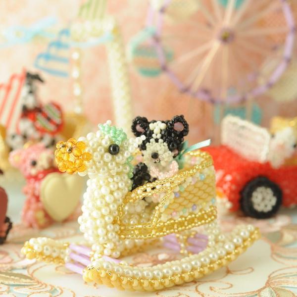 ビーズキット おもちゃ Babyギフト〜ゆらゆら木馬〜 ビーズマニア|beadsmania-shop