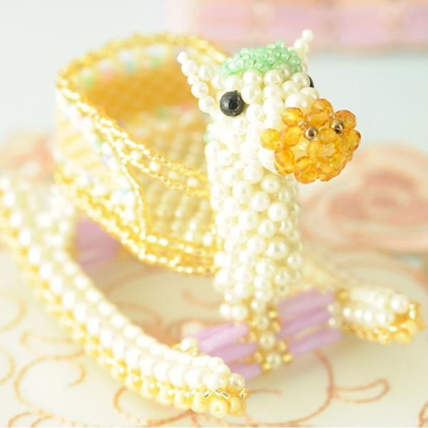 ビーズキット おもちゃ Babyギフト〜ゆらゆら木馬〜 ビーズマニア|beadsmania-shop|04