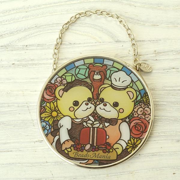ステンドグラス サンキャッチャー 壁掛け ビーズマニアオリジナル☆サンキャッチャー beadsmania-shop 02