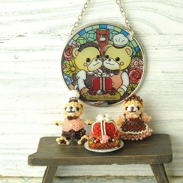 ステンドグラス サンキャッチャー 壁掛け ビーズマニアオリジナル☆サンキャッチャー beadsmania-shop 06