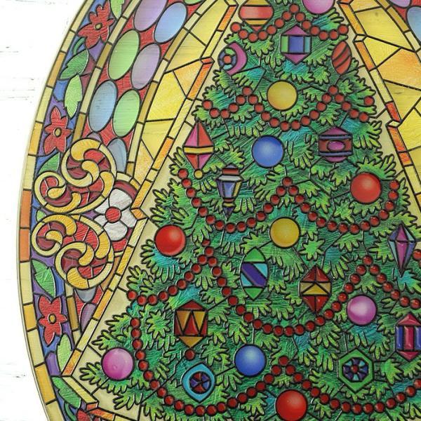ステンドクラス アンティーク ステンドグラス サンキャッチャー 壁掛け Vintage Christmas beadsmania-shop 03
