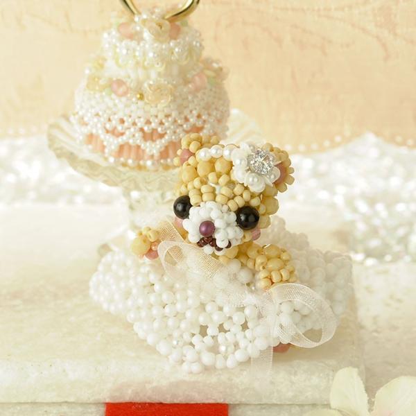 ビーズキット ハンドメイド プレミアム☆テディベア〜Happy Wedding〜  ビーズマニア|beadsmania-shop|04