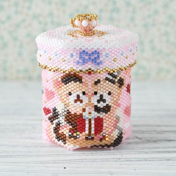 アクセサリーボックス ステッチボックス〜Sweets Party〜  ビーズマニア|beadsmania-shop|02