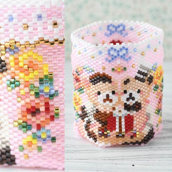 アクセサリーボックス ステッチボックス〜Sweets Party〜  ビーズマニア|beadsmania-shop|03