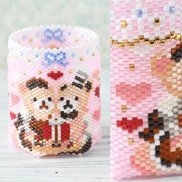 アクセサリーボックス ステッチボックス〜Sweets Party〜  ビーズマニア|beadsmania-shop|04