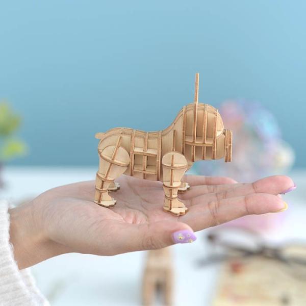 クラフト キット ハンドメイド 手作り  Wooden Art ki-gu-mi フレンチブルドッグ|beadsmania-shop|05