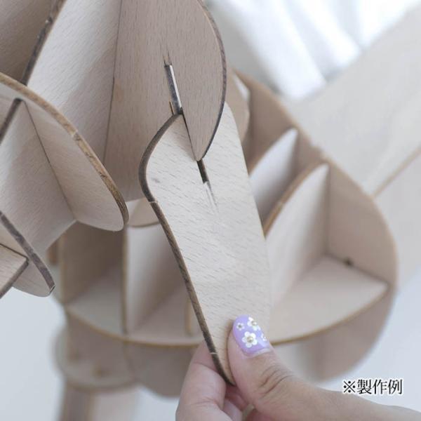 クラフト キット ハンドメイド 手作り  Wooden Art ki-gu-mi フレンチブルドッグ|beadsmania-shop|06