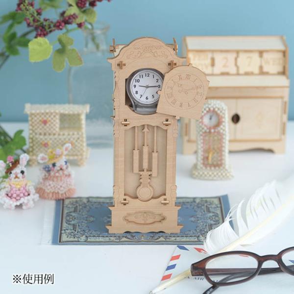 クラフト キット ハンドメイド 手作り  Wooden Art ki-gu-mi 古時計 ウォッチケース beadsmania-shop