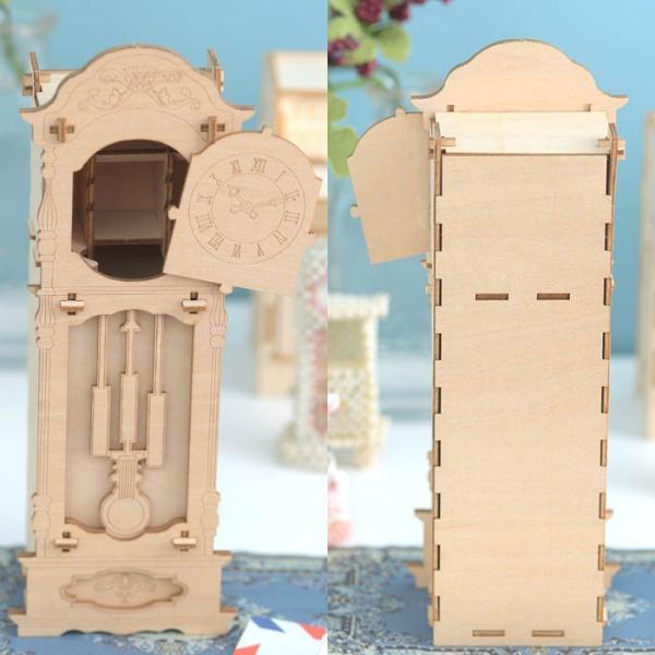 クラフト キット ハンドメイド 手作り  Wooden Art ki-gu-mi 古時計 ウォッチケース beadsmania-shop 03