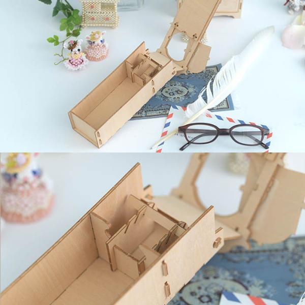 クラフト キット ハンドメイド 手作り  Wooden Art ki-gu-mi 古時計 ウォッチケース beadsmania-shop 05
