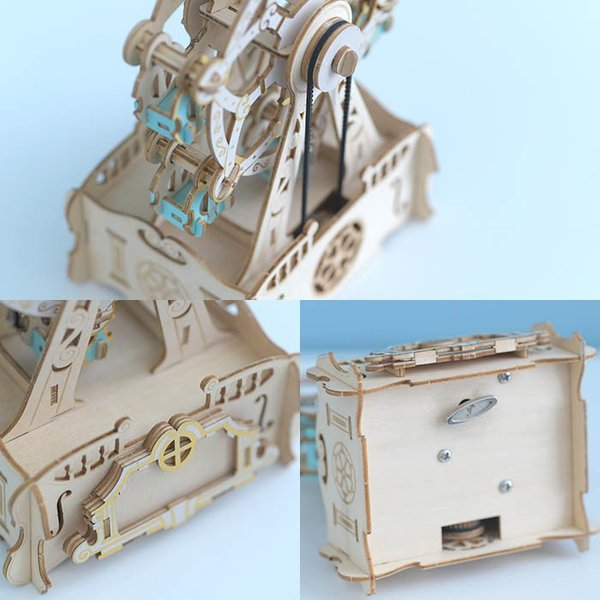 クラフト キット ハンドメイド 手作り  Wooden Art ki-gu-mi オルゴール付き 観覧車 beadsmania-shop 04
