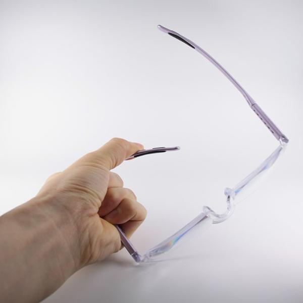 拡大鏡  眼鏡 ルーペ メガネ型ルーペ めがね 手芸 両手が使える眼鏡式ルーペ(LEDライト付き) 視力補正 眼鏡ルーペ 視力補正 beadsmania-shop 04