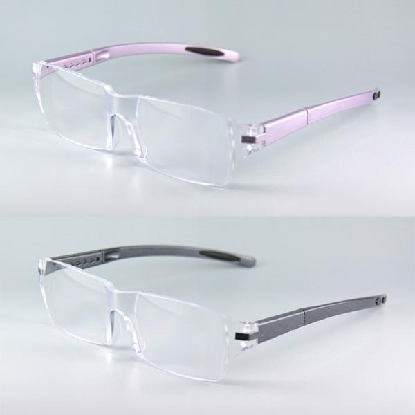 拡大鏡  眼鏡 ルーペ メガネ型ルーペ 両手が使える眼鏡式ルーペ 視力補正 beadsmania-shop 02