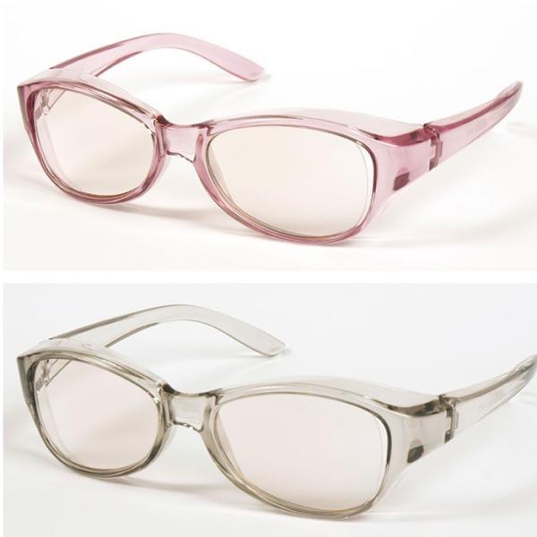 拡大鏡  眼鏡 ルーペ メガネ型ルーペ めがね 両手が使える高倍率拡大鏡(ブルーライトカット) 視力補正|beadsmania-shop|02