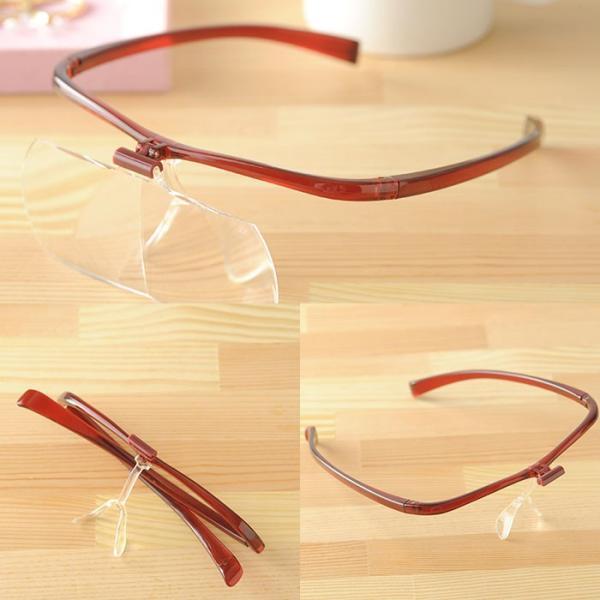 眼鏡ルーペ ズームシニアグラス  敬老の日 プレゼント メガネルーペ 1.6倍|beadsmania-shop|06
