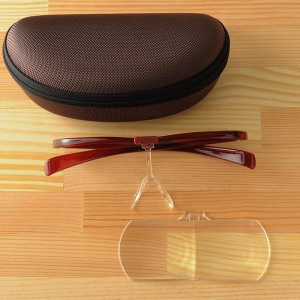 眼鏡ルーペ ズームシニアグラス  敬老の日 プレゼント メガネルーペ 1.6倍|beadsmania-shop|07