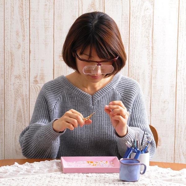 眼鏡ルーペ ズームシニアグラス  敬老の日 プレゼント メガネルーペ 1.6倍|beadsmania-shop|08