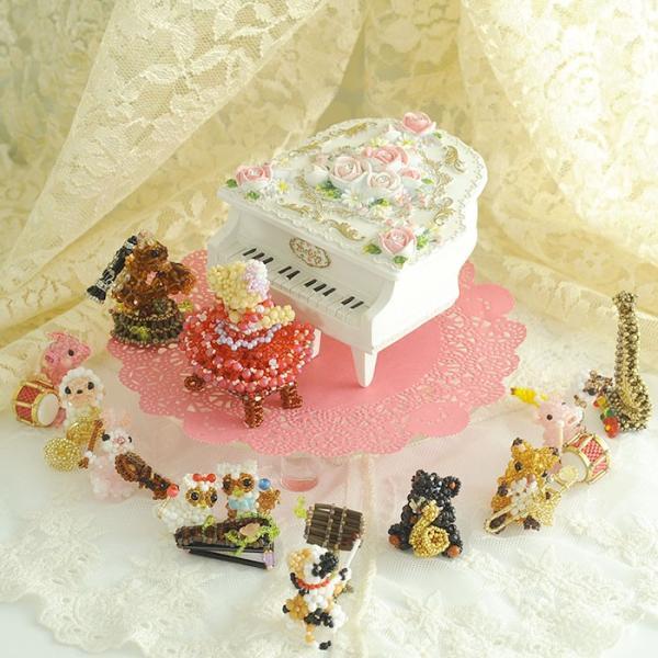 プレゼント ギフト グランドピアノ オルゴール|beadsmania-shop
