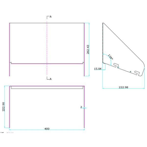LEPシリーズ専用ルーバー LEP400 LEP600 対応 LEPCOVER01  ビームテック|beamtec-forbusiness|02