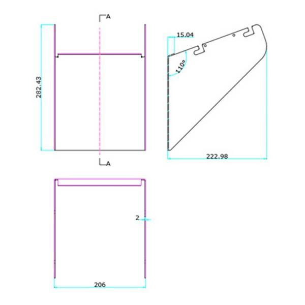 LEPシリーズ専用ルーバー LEP200 LEP300 対応 LEPCOVER02 ビームテック|beamtec-forbusiness|03