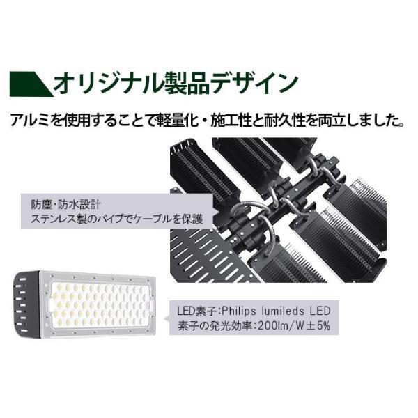 LED投光器 480W 投光器 LED 屋外 看板 駐車場 倉庫 工場 作業灯 防犯灯 LED高天井 照明器具 LET480 ビームテック|beamtec-forbusiness|05