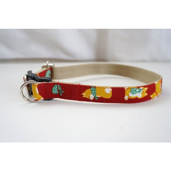 犬用首輪/ハーネス  ポチのお散歩 オーダーメイド品  子犬  小型犬  中型犬  しばいぬ  和柄  和風  シバイヌ  柴犬 beans-factory 11