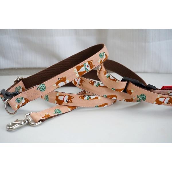 犬用リード  ポチのお散歩  オーダーメイド品  子犬  小型犬  中型犬  しばいぬ  和柄  和風  シバイヌ  柴犬|beans-factory|06