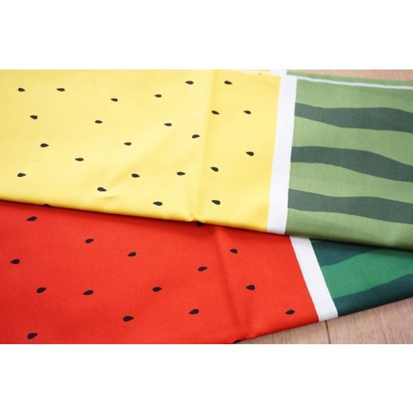 犬用リード  スイカ柄(全2色)  オーダーメイド品  15mm幅/20mm幅  子犬  小型犬  中型犬  すいか SUIKA フルーツ 果物|beans-factory|11