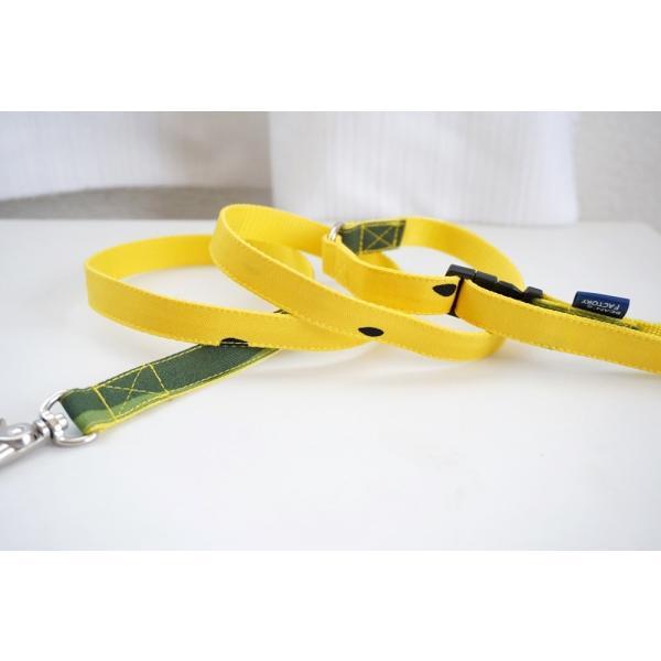 犬用リード  スイカ柄(全2色)  オーダーメイド品  15mm幅/20mm幅  子犬  小型犬  中型犬  すいか SUIKA フルーツ 果物|beans-factory|09