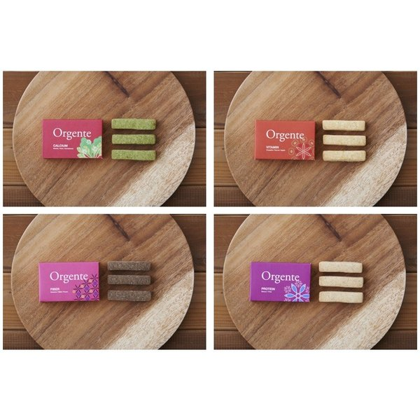 子供用無添加お菓子砂糖不使用オーガニック有機無農薬野菜クッキーOrgente4種セット