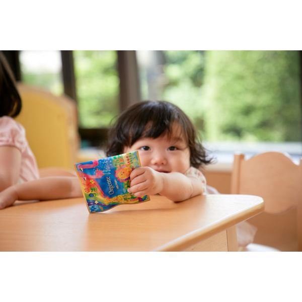 子供用 無添加 パフ お菓子 化学農薬不使用 砂糖や食塩不使用 Orgente PUFF プレーン 8袋入り|beans-japan|07
