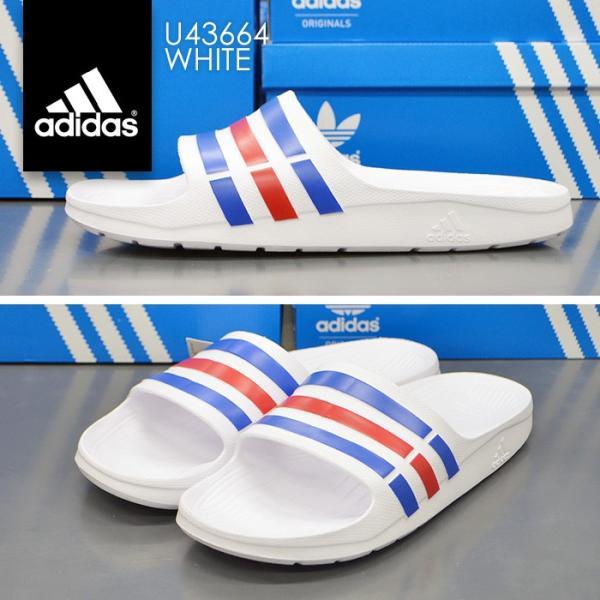 アディダス メンズ シャワーサンダル スポーツサンダル デュラモ スライド adidas DURAMO SLIDE G14309 G15890 G15892 U43664 bearfoot-shoes 07