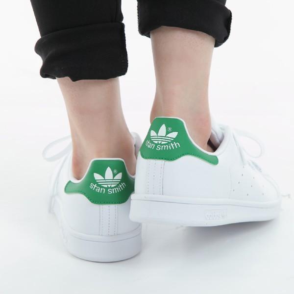 adidas STAN SMITH アディダス メンズ レディース スタンスミス スニーカー M20324 ホワイト グリーン|bearfoot-shoes|11