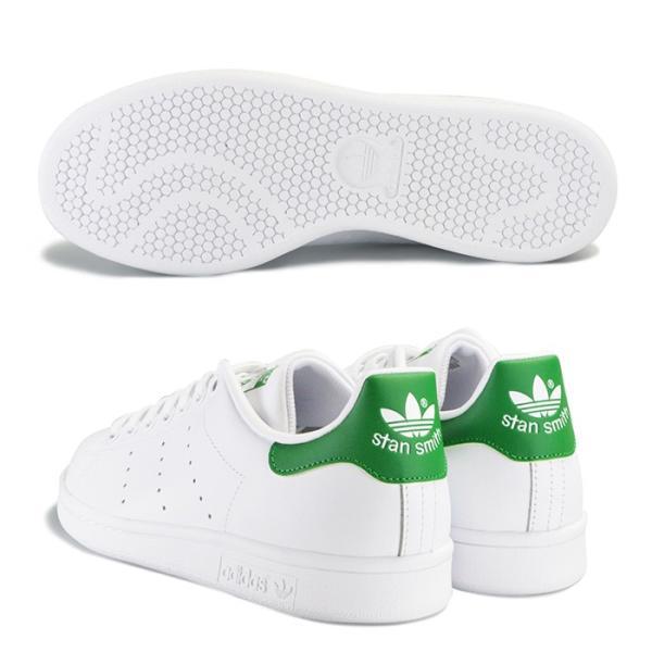 adidas STAN SMITH アディダス メンズ レディース スタンスミス スニーカー M20324 ホワイト グリーン|bearfoot-shoes|03