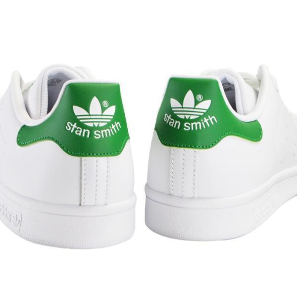 adidas STAN SMITH アディダス メンズ レディース スタンスミス スニーカー M20324 ホワイト グリーン|bearfoot-shoes|07