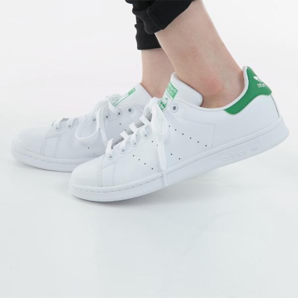 adidas STAN SMITH アディダス メンズ レディース スタンスミス スニーカー M20324 ホワイト グリーン|bearfoot-shoes|09