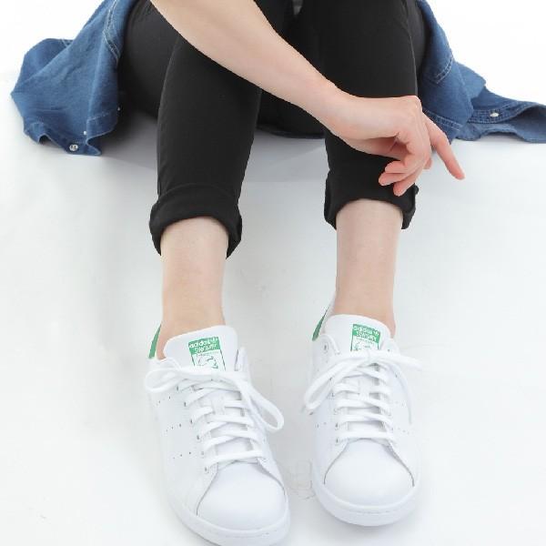 adidas STAN SMITH アディダス メンズ レディース スタンスミス スニーカー M20324 ホワイト グリーン|bearfoot-shoes|10