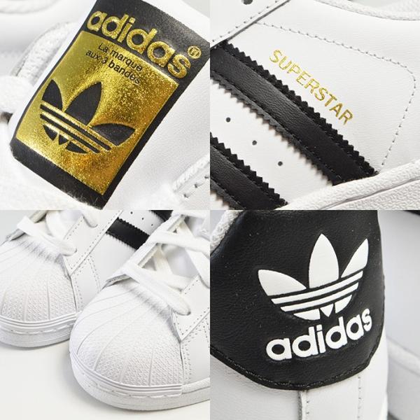 アディダス スーパースターJ レディース スニーカー アディダス C77154 adidas SUPERSTAR FOUNDATION J|bearfoot-shoes|04