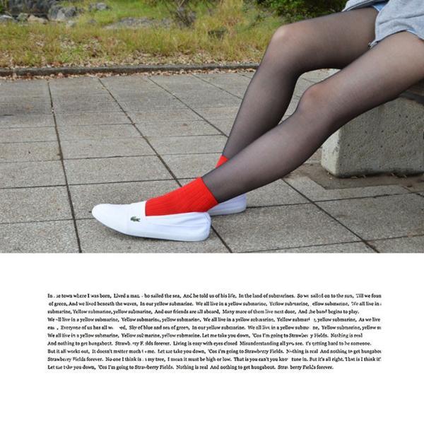 メンズ レディース ユニセックス MARICE BL 2 シューズ LACOSTE ラコステ マリス スリップオン キャンバス スリッポン スニーカー 靴|bearfoot-shoes|13