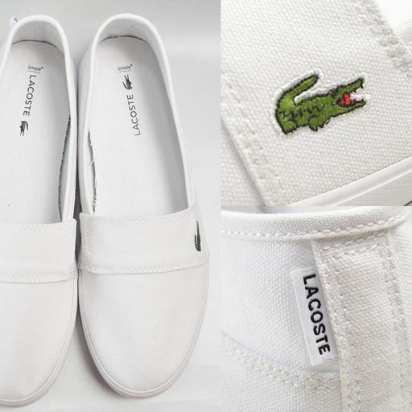 メンズ レディース ユニセックス MARICE BL 2 シューズ LACOSTE ラコステ マリス スリップオン キャンバス スリッポン スニーカー 靴|bearfoot-shoes|04