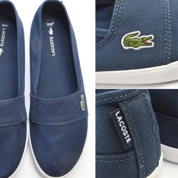 メンズ レディース ユニセックス MARICE BL 2 シューズ LACOSTE ラコステ マリス スリップオン キャンバス スリッポン スニーカー 靴|bearfoot-shoes|07
