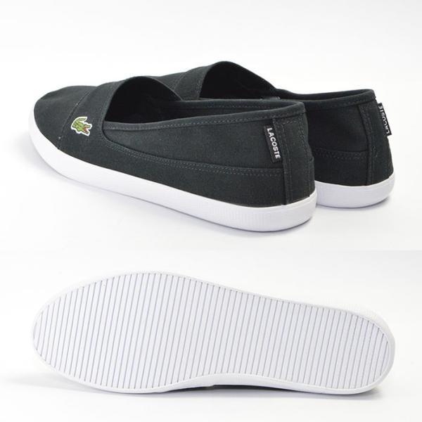 メンズ レディース ユニセックス MARICE BL 2 シューズ LACOSTE ラコステ マリス スリップオン キャンバス スリッポン スニーカー 靴|bearfoot-shoes|09