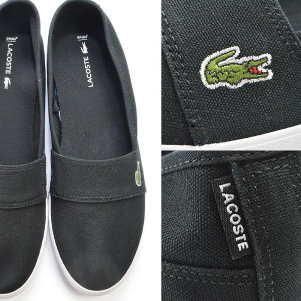 メンズ レディース ユニセックス MARICE BL 2 シューズ LACOSTE ラコステ マリス スリップオン キャンバス スリッポン スニーカー 靴|bearfoot-shoes|10