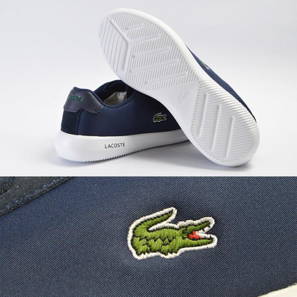 ラコステ スニーカー メンズ シューズ 靴 アバンス キャンバス LACOSTE AVANCE 318 3|bearfoot-shoes|06