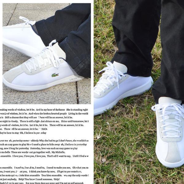 ラコステ スニーカー メンズ シューズ 靴 アバンス キャンバス LACOSTE AVANCE 318 3|bearfoot-shoes|08