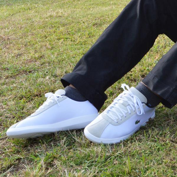 ラコステ スニーカー メンズ シューズ 靴 アバンス キャンバス LACOSTE AVANCE 318 3|bearfoot-shoes|09