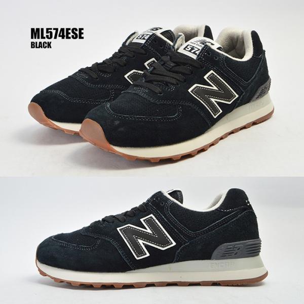 メンズ 紳士 男性 シューズ 靴 new balance 574 ニューバランス ウォーキング ML574ESE ML574ESG ML574ESJ スニーカー|bearfoot-shoes|02