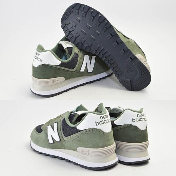 メンズ 紳士 男性 シューズ 靴 new balance 574 ニューバランス ウォーキング ML574ESP ML574ESR ML574ESS スニーカー bearfoot-shoes 03